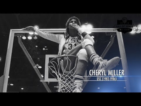 2018 Pac-12 Hall of Honor Inductee: USC women's basketball's Cheryl Miller