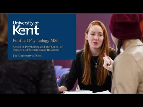 Political Psychology MSc at the University of Kent