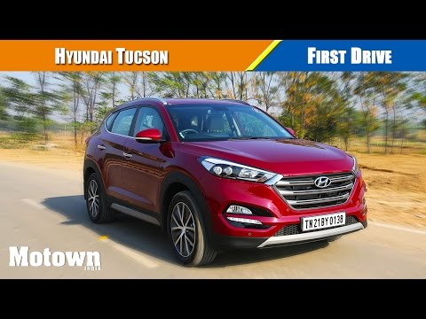 First drive of all new 2016 Hyundai Tucson