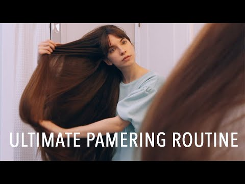 ULTIMATE PAMPERING SHOWER ROUTINE! (natural & organic products)