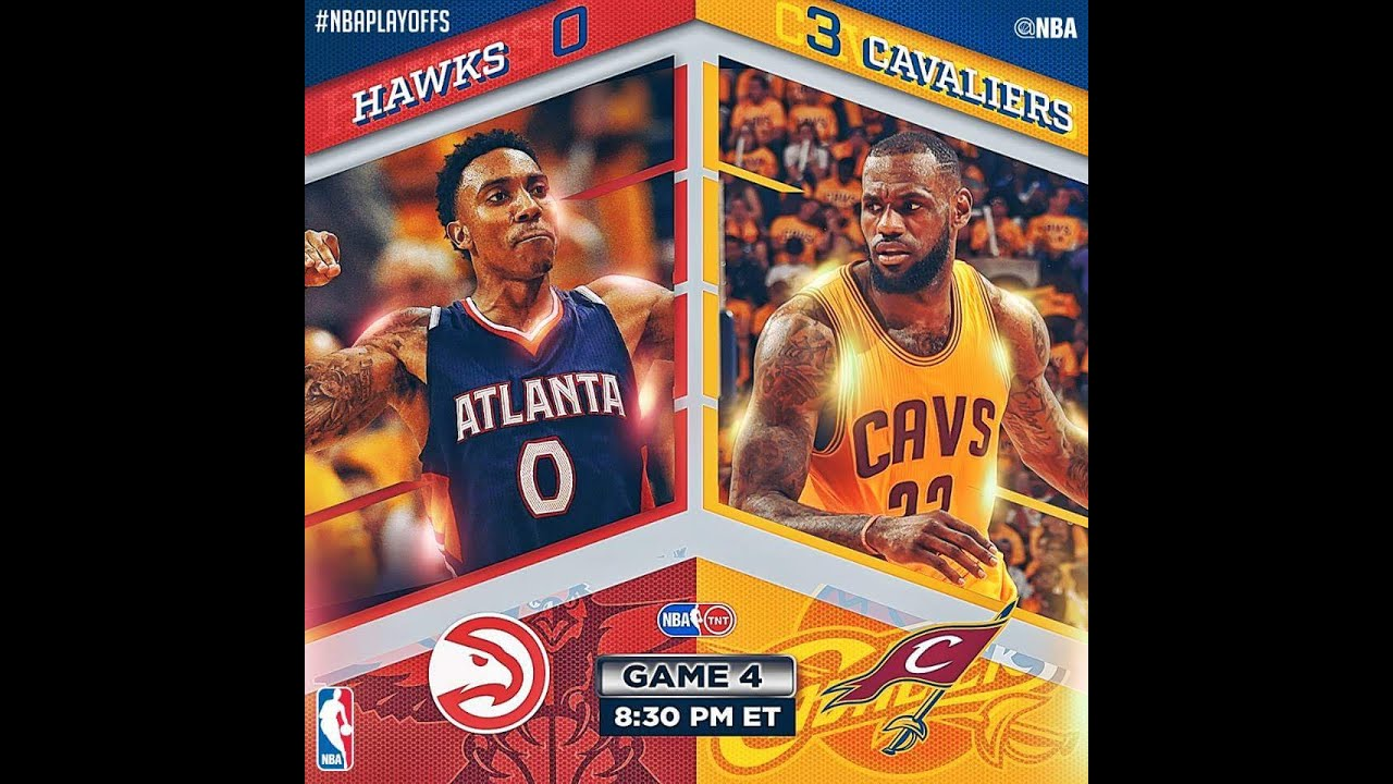 8203865cacc2 Atlanta Hawks vs Cleveland Cavaliers - Game 4 - Full Highlights | May 26,  2015 | 2015 NBA Playoffs