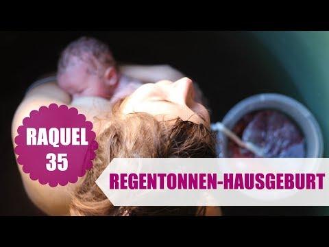 RAQUEL 35 | Regentonnen-Hausgeburt | #starkestimmen