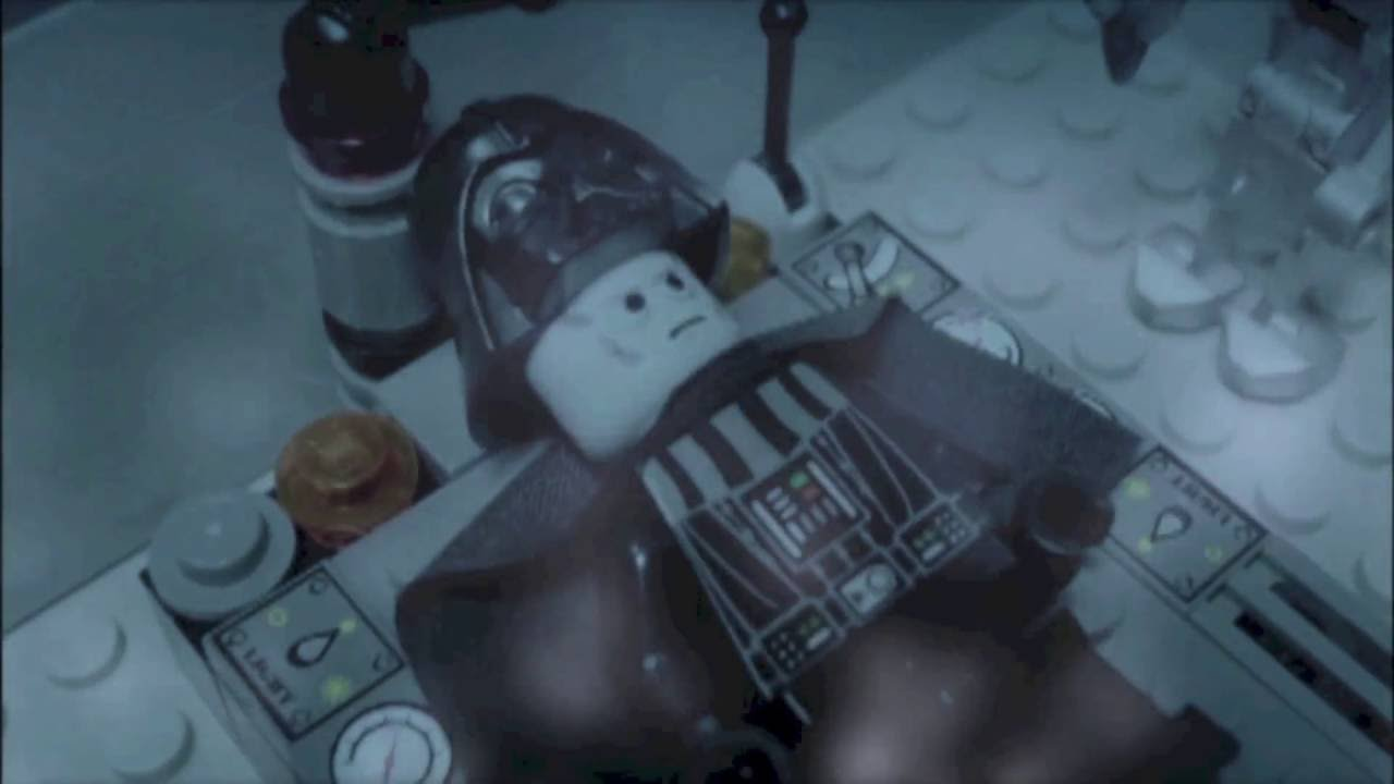 lego wars episode iii darth vader s transformation