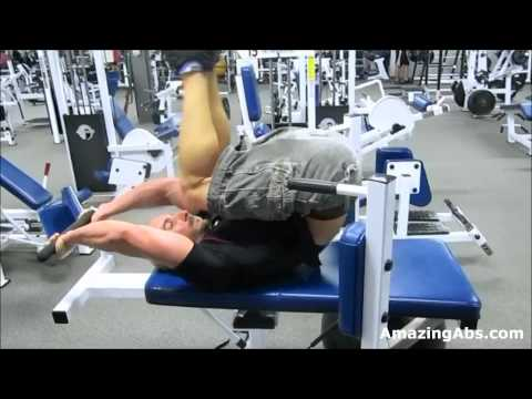 Extremely Effective Lower Abs Exercise Superset