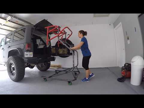 Jeep Top Removal w/TopLiftPros