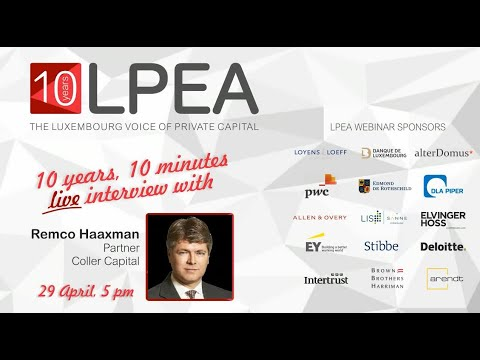 10 Years, 10 Minutes with Remco Haaxman, Coller Capital