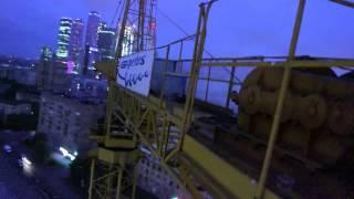 Работа башенного крана(, 2013-07-29T03:52:26.000Z)