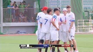USA vs Great Britain - 2012 World Ultimate Championships - Men