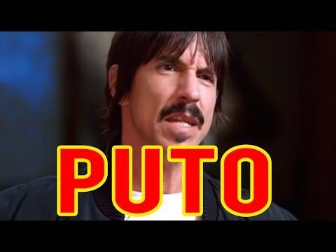 Anthony Kiedis PUTO DA VIDA  Red Hot Chili Peppers