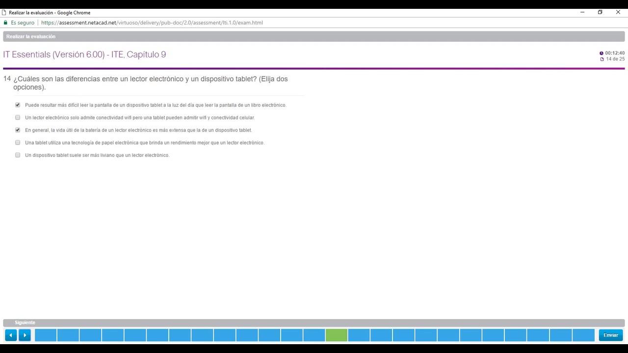 Examen Cisco Capitulo 9 Ite Essential Netacad 6 0 2017 Resultado 100 Youtube