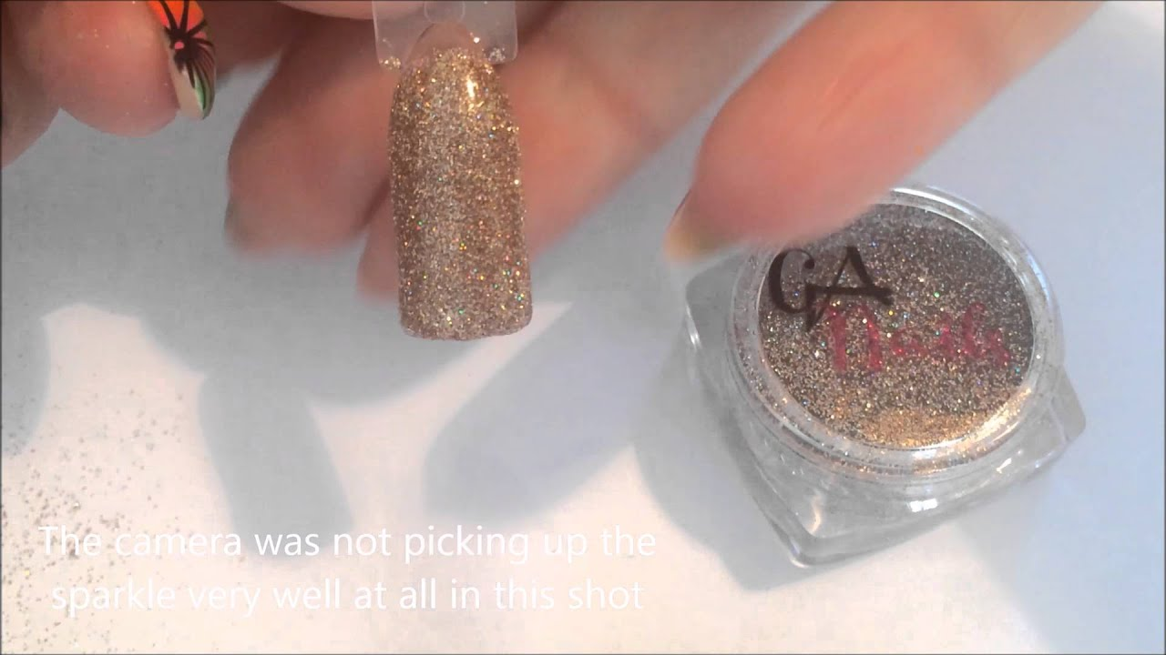 Glitterarty Nails Review Swatch Ultra Fine Super Sparkly Glitters