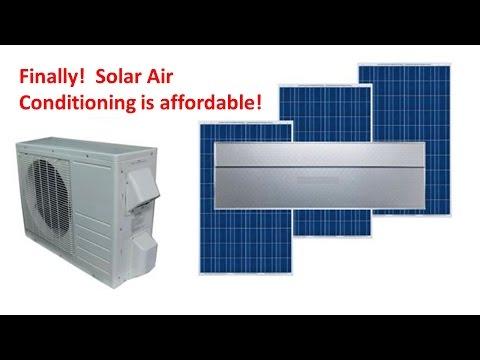 ACDC18C Solar Air Conditioner Heat Pump