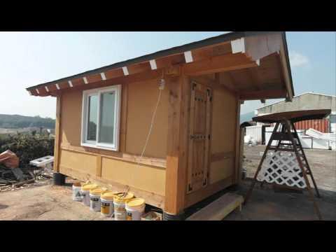 이동식황토방 이동식찜질방 이동식주택 미니