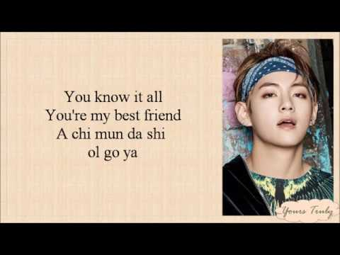 BTS (방탄소년단) - SPRING DAY [EASY LYRICS]