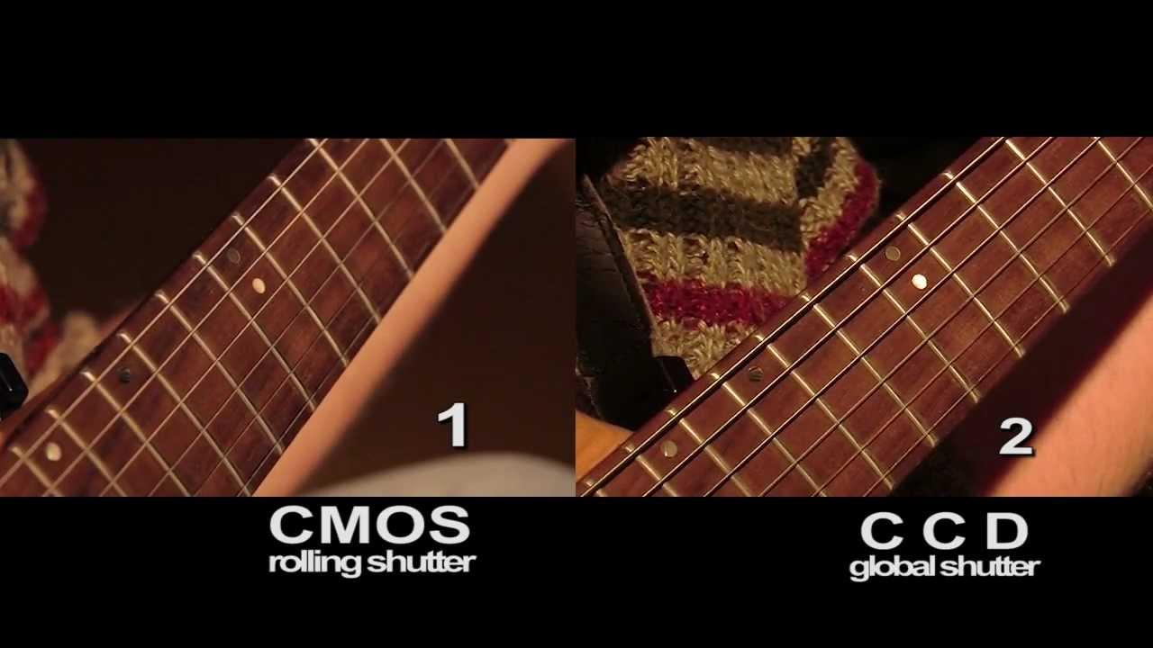 rolling shutter vs global shutter guitar string deformation youtube. Black Bedroom Furniture Sets. Home Design Ideas