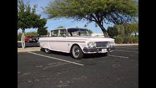 1961 AMC Rambler Classic 4 Door Custom in Pink & Engine Sound on My Car Story with Lou Costabile