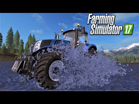 Farming Simulator 17 : FLOOD EDITION MAP - GOLDCREST VALLEY 💧💧💧