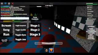 Roblox FNAF Let's Play #3 Being Foxy Is So Easy