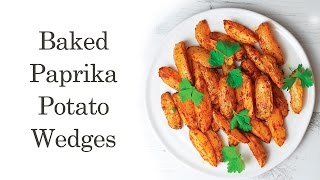 Baked Paprika Potato Wedges