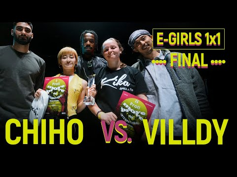 Chiho vs. Villdy | E-Girls 1x1 Final @ Move&Prove International 2018