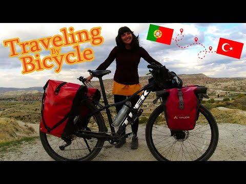 Cycling from Portugal to Turkey 🚲 Inspiring story of Larissa Cantarelli. Bicycle Adventure thumbnail