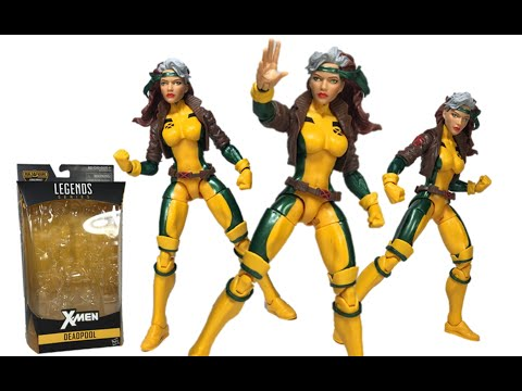 Marvel Legends Rogue From The Juggernaut BAF Wave X-Men Series Toy Review