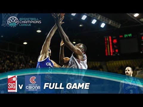 SIG Strasbourg v Cibona - Full Game - Basketball Champions League
