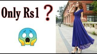Royal blue long dress online review Maxidress