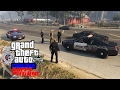 GTA 5 Police Online Multiplayer Patrol #18 | Live Steam With The KUFFS Crew TheProneGuy & I Run