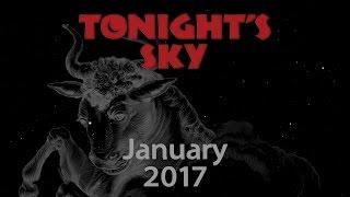 Tonight's Sky: January 2017