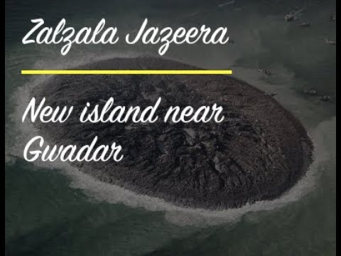 Zalzala Jazira (Earthquake Island) Gwadar, Balochistan, Pakistan