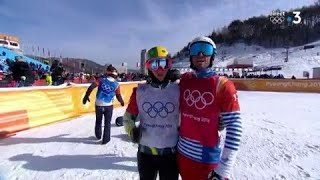 JO 2018 : Snowboard cross - Finale. Pierre Vaultier conserve son titre olympique !