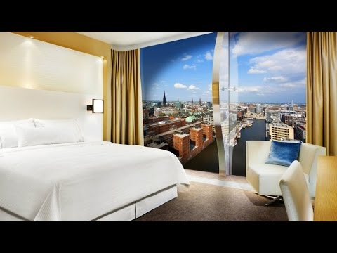 neues westin hotel in der elbphilharmonie hamburg mit minimalistischem design youtube. Black Bedroom Furniture Sets. Home Design Ideas