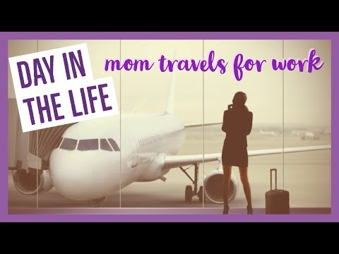 DAY IN THE LIFE | #bossmom traveling for work | brianna k