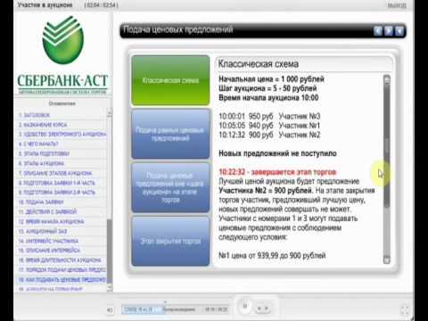 электронный аукцион сбербанк аст инструкция img-1