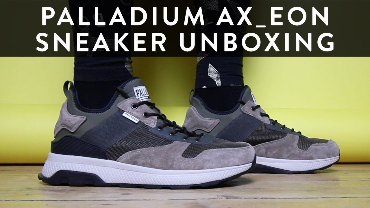 b33c3c55762 Palladium Ax_Eon Army Runner | Sneaker Unboxing | The New Collections |  Llomotes