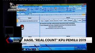Situng KPU 67%: Jokowi-Ma'ruf 56,3% & Prabowo-Sandi 43,7%