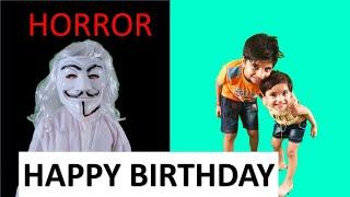 Happy Birthday Wish I HORROR I Fun With Anagh Aadriti