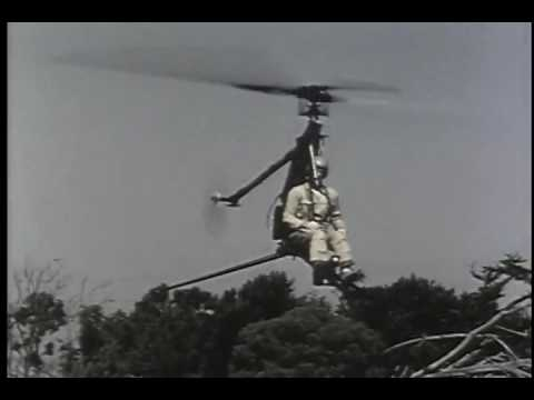 Hiller Rotorcycle excerpted from the American Helicopter Society History Committee video