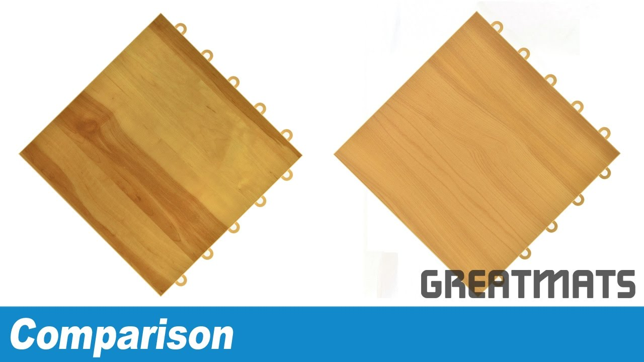 Comparing raised wood grain floor tiles modular woodgrain tile comparing raised wood grain floor tiles modular woodgrain tile comparison procourt vs max tile dailygadgetfo Choice Image