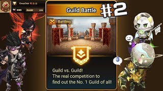 Summoners War:Guild war, only use nat 4 below and fusion nat5  #2 魔靈召喚 原五限制 剛好遇到放破輕鬆虐(✿╹◡╹)