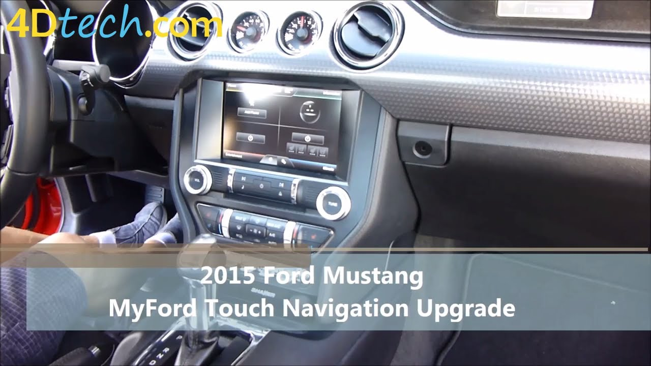 Add factory navigation to myford touch 2015 ford mustang