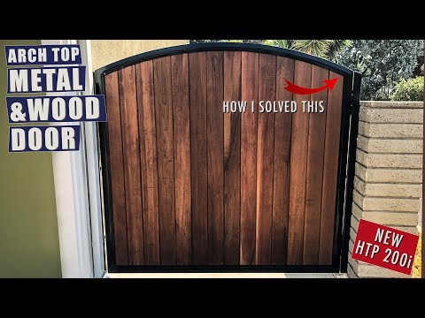 Metal & Wood Gate Door | JIMBO'S GARAGE