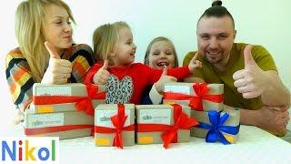 Відкриваємо 6 подарунків від сюрприз боксу !