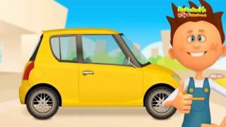 Мультики про машинки   Красим машинки и Учим цвета! Развивающие мультфильмы для детей  Анимашка 2017