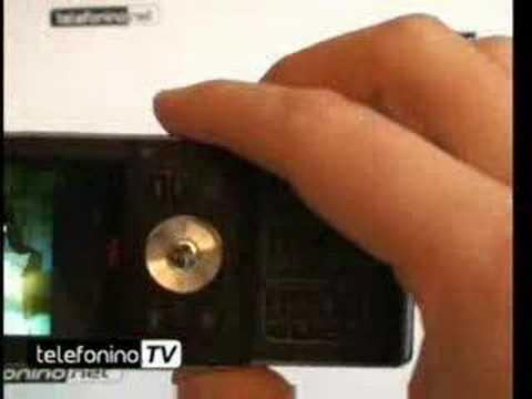 Videoprova del nuovo Sonyericsson W910i