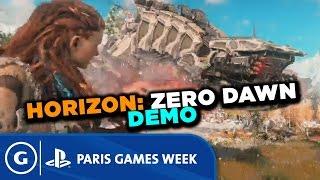 Horizon: Zero Dawn Stage Demo - Paris Games Week 2015 Sony Press Conference