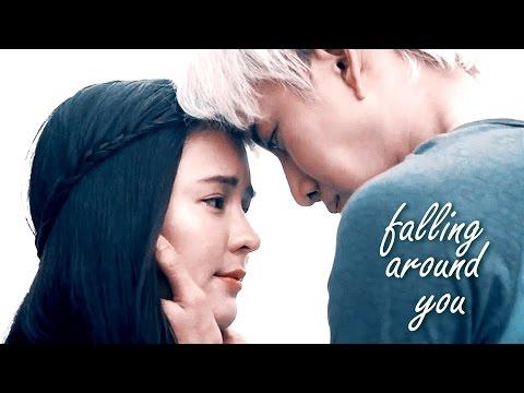 i'm falling around you