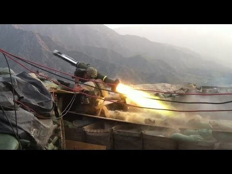 Javelin Strike on 3 Man Taliban Mortar Team