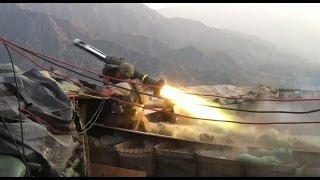 Javelin Strike on 3 Man Taliban Mortar Team